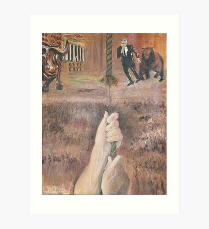U.S.Stock Market Art Print