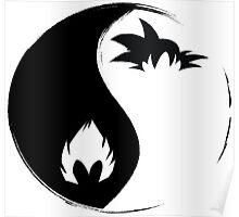 Goku & Vegeta Poster