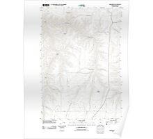 USGS Topo Map Oregon Gwendolen 20110903 TM Poster
