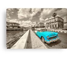 Blue Havana  Canvas Print