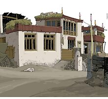 Ladakh House by David  Kennett