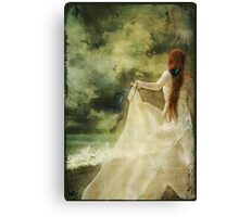 Girl with Dreams - Cover Canvas Print