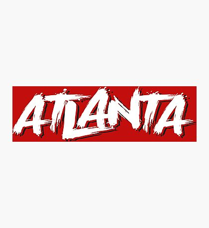 Atlanta: Scarlett Photographic Print