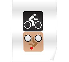 Bicycle Face! Poster