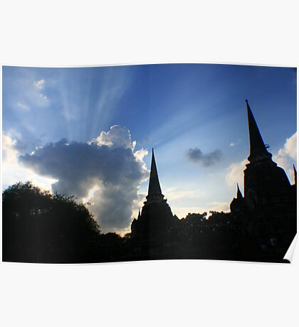 Shining sky Poster