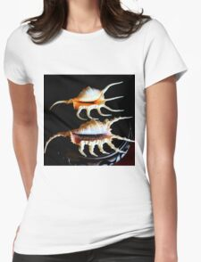 Shell We Dance, Da Da Da... Womens Fitted T-Shirt