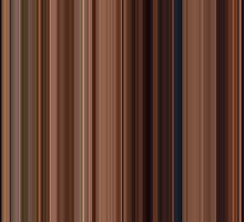 Moviebarcode: Ratatouille (2007) [Simplified Colors] by moviebarcode