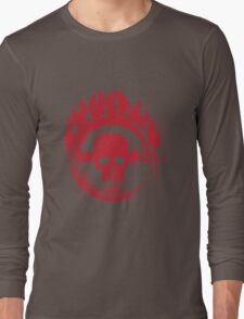 Blood on Road Long Sleeve T-Shirt