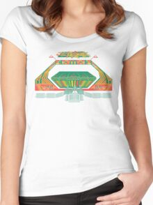 Gravitron - Simulated Space Travel G-Force Women's Fitted Scoop T-Shirt