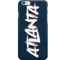 Atlanta: Navy iPhone Case/Skin