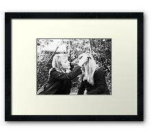 Sweat Flower Power Framed Print