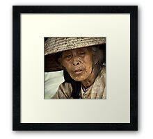 The Street Hawker #0301 Framed Print