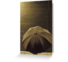 Photographer's Umbrella Greeting Card