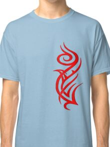 Rosa Tribal Rojo Classic T-Shirt