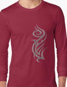 Rosa Tribal Gris Long Sleeve T-Shirt