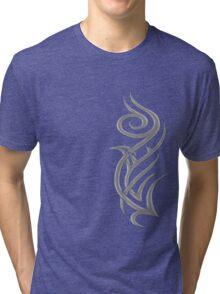 Rosa Tribal Gris Tri-blend T-Shirt