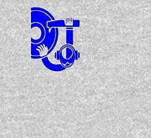 Tribal DJ Azul Unisex T-Shirt