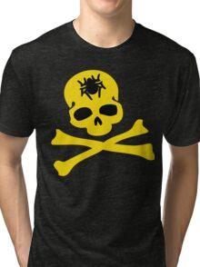 Halloween skeleton Tri-blend T-Shirt