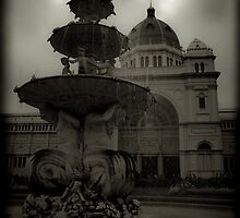 Royal Exhibition Building  by Andrew Wilson