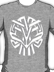 Tribal Skull Blanco T-Shirt