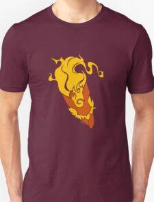 Vector Flareon Pokemon Fire Design T-Shirt