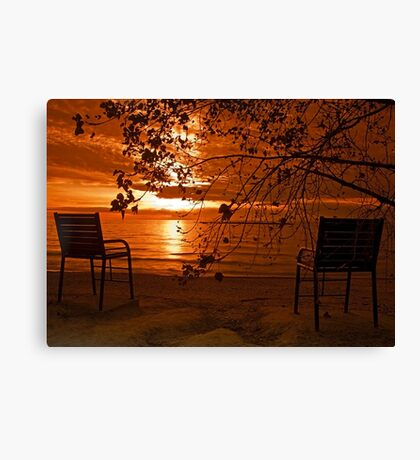 Just TheTwo Of Us Canvas Print