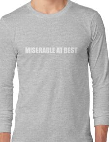 ☆ Mayday Parade - Miserable At Best ☆ Long Sleeve T-Shirt