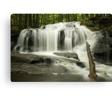 Tucker Brook Falls Canvas Print