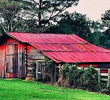 Countryside Barn by RickDavis