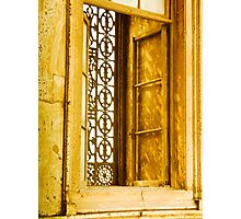 One of many windows. The Mosque of Muhammad Ali Pasha or Alabaster Mosque Photographic Print