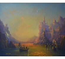 Hogwarts Castle Photographic Print