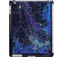 USGS Topo Map Oregon Eugene 282484 1949 62500 Inverted iPad Case/Skin