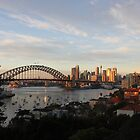Sydney Golden Sunrise by Anthony Ogle