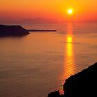 Santorini Sunset by Paul Thompson Photography