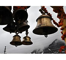 Bells of faith  Photographic Print