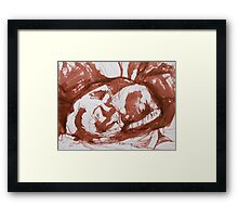 Mia Sleeping Framed Print