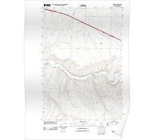 USGS Topo Map Oregon Nolin 20110903 TM Poster