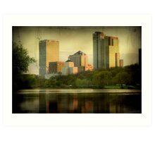 Milwaukee View © Art Print