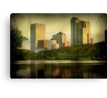 Milwaukee View © Canvas Print