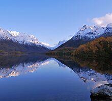 Autumn lake VII by Frank Olsen