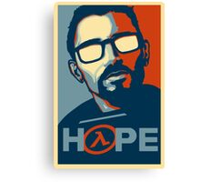 Half Life Hope Canvas Print