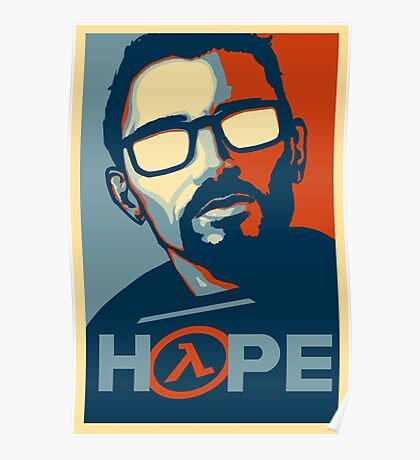 Half Life Hope Poster