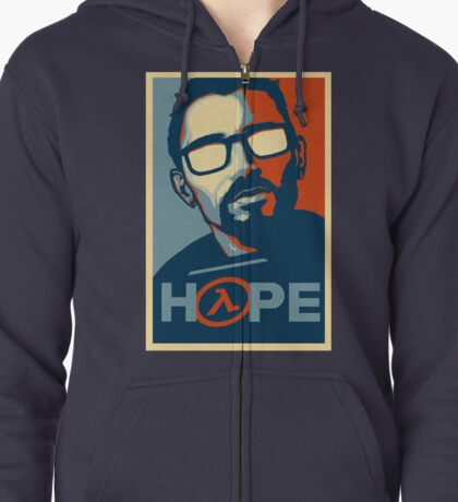 Half Life Hope Zipped Hoodie
