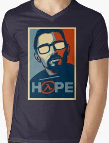 Half Life Hope Mens V-Neck T-Shirt