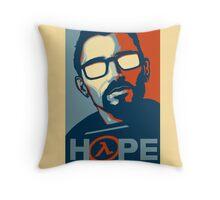 Half Life Hope Throw Pillow