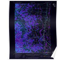 USGS Topo Map Oregon Monroe 282725 1939 62500 Inverted Poster