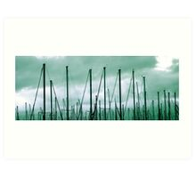 Mass Masts Art Print