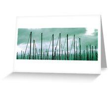 Mass Masts Greeting Card