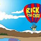 Rick the chick & Friends - JOURNEY IN A BALLOON by CLAUDIO COSTA