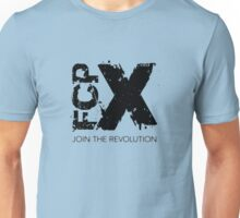 Join the FCPX Revolution (Mono) Unisex T-Shirt